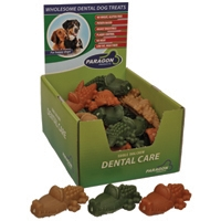 "Paragon Alligator Dental Dog Treat Large 4.7"" 30 ct. Display Box"