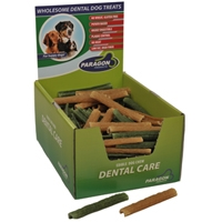 "Paragon Twiggies Dental Dog Treat Small 4.7"" 150 ct. Display Box"