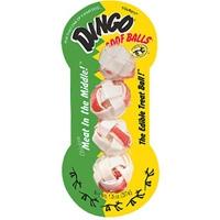 "Dingo Goof Balls Small 1.5"" 3 Pack"