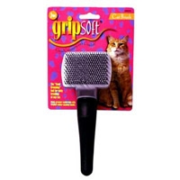 JW Pet Company GripSoft Cat Small Slicker Brush