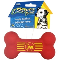 JW Pet Company iSqueak Bone Medium Dog Toy