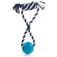 JW Pet Company Megalast Ball With Rope Small