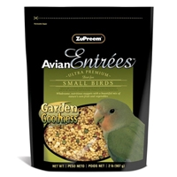 Zupreem Avian Entrees Garden Goodness Small Bird 2 lb. Pouch