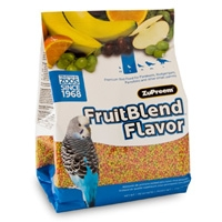 Zupreem Fruit Blend Flavor Premium Bird Food Small Parakeet 2 lb. Bag