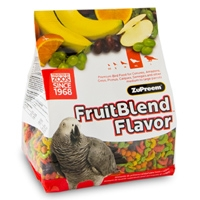 Zupreem Fruitable Large Parrot/Conure 2lb