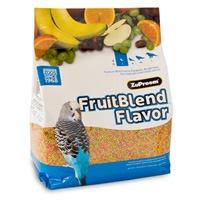 Zupreem Fruit Blend Flavor Premium Bird Food Small Parakeet 10 lb. Bag