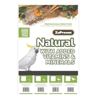 Zupreem Natural Large Parrot, 20 Lb