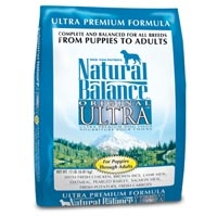 Natural Balance Ultra Premium Dry Dog food 15 lb.
