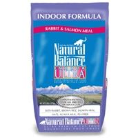 Natural Balance Indoor Ultra Rabbit & Salmon Meal Dry Cat 5 lb.