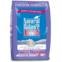 Natural Balance Indoor Ultra Rabbit & Salmon Meal Dry Cat 10#