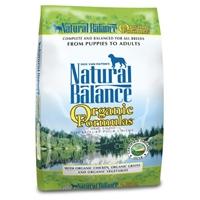 Natural Balance Organic Formula Dry Dog 12.5 lb