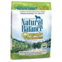 Natural Balance Organic Formula Dry Dog 25 lb