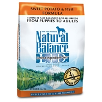 Natural Balance Limited Ingredient Diet Fish & Sweet Potato Dry Dog Food 28 lb.