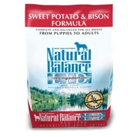Natural Balance Sweet Potato & Bison Limited Ingredient Diets Dry Dog Food 6/5 lb.