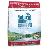 Natural Balance Sweet Potato & Bison Limited Ingredient Diets Dry Dog Food 15 lb.