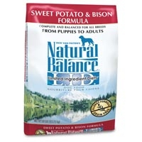 Natural Balance Sweet Potato & Bison Limited Ingredient Diets Dry Dog Food 28 lb.