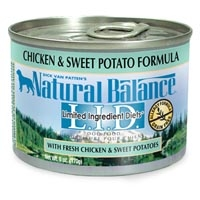 Natural Balance Limited Ingredient Diets Chicken & Sweet Potato Canned Dog Food 12/6 oz.