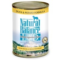 Natural Balance Limited Ingredient Diets Duck & Potato Canned Dog Food 12/13 oz.