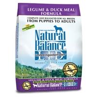 Natural Balance LID Legume & Duck Meal 12.5LB