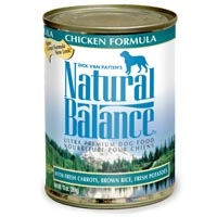Natural Balance® Ultra Premium Chicken & Rice Can Dog Formula