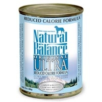 Natural Balance Reduced Calorie Dog Formula 12/13 oz.