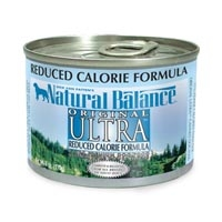 Natural Balance Reduced Calorie 12/6 oz.