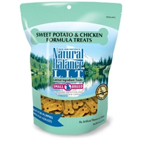 Natural Balance LIT Swet Potato & Chicken Treats 12/8 oz.