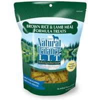 Natural Balance LIT Brown Rice & Lamb Meal Treats 14 oz.