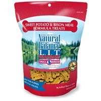 Natural Balance LIT Sweet Potato & Bison Meal Treats 12/8 oz.