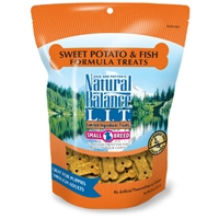 Natural Balance Limited Ingredient Diets Fish & Sweet Potato Small Breed Treats 8 oz.