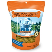 Natural Balance Limited Ingredient Diets Fish & Sweet Potato Allergy Treats 14 oz.