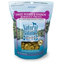 Natural Balance Limited Ingredient Diets Venison & Sweet Potato Treats 14 oz.