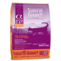 Natural Balance Alpha Cat Trout/Whitefish/Salmon 10#