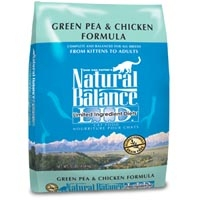 Natural Balance Limited Ingredient Diets Green Pea & Chicken Dry Cat Food 10 lb.