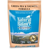 Natural Balance Limited Ingredient Diets Green Pea & Salmon Dry Cat Food