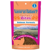 NATURAL BALANCE Perfect Bites Salmon Formula Cat Treats, 12/3oz