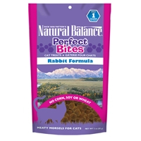 Natural Balance Perfect Bites Rabbit Formula Cat Treats, 12/3oz