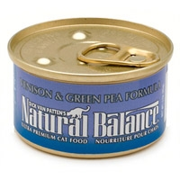 Natural Balance Limited Ingredient Diets Venison & Green Pea Canned Cat Food 3 oz.