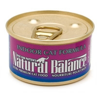 Natural Balance Indoor Can Cat Food