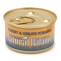 Natural Balance Turkey & Giblets Can Cat Food