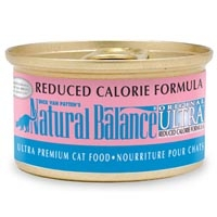 Natural Balance Reduced Calorie Can Cat 24/3 oz.
