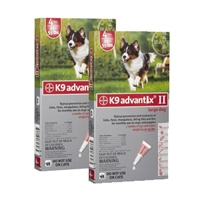Advantix II Large Dog Red 2 Pack