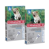 Advantix II Extra Large Dog Blue 2 Pack