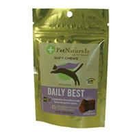 Pet Naturals of Vermont Softchews Daily Best for Cats 6/1.98 oz