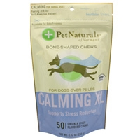 Pet Naturals Calming XL Bone-Shaped Chews