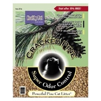 Absorption Healthy Pet Cracked Pine Cat Litter 15 lb.