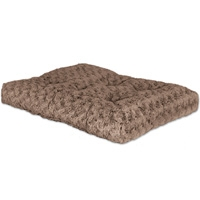 Midwest #40630STB QT Ombre Swirl Bed 28X20 Mocha Fur