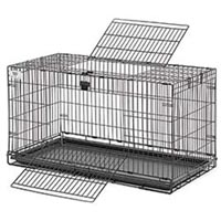 "Midwest #150HH Hoppity Habitat 37"" Fold Cage With Pan"