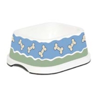 Petmate Designer Bowl Bone Parade 2 Cups
