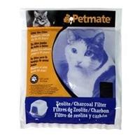 Petmate Basic- Zeolite Litter Pan Filters